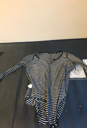 Striped bodysuit for Sale in Washington, DC
