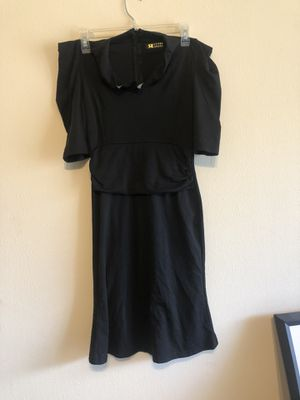 Fitted Black Ruffel Dress for Sale in Racine, WI