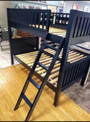 Black Twin Bunk Bed Frame for Sale in Glendale, AZ
