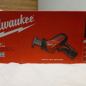 Milwaukee M12 Hackzall Reciprocating Saw Kit for Sale in Shoreline, WA