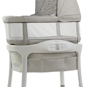 New Graco Sense2Snooze Baby Bassinet Sleeper Cry Detection Technology Roma for Sale in Las Vegas, NV