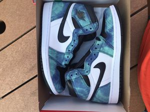 Jordan 1 Tie Dye Size 7.5 Men/9 W Deadstock for Sale in North Providence, RI