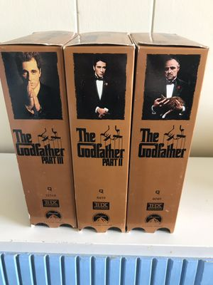 Godfather vhs set for Sale in Hanover, PA