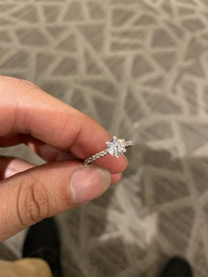 Sterling Silver engagement style women's ring for Sale in Fairfield, CT