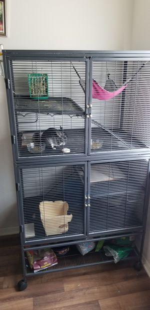 Cage for chinchilla for Sale in Richmond, VA