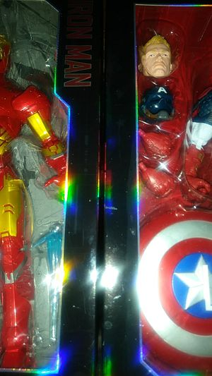 "Marvel Legends🎆Iron man🎇Captain America 12"" for Sale in Baltimore, MD"