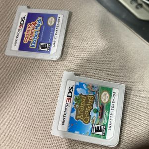 (2) Gently Used Nintendo 3DS Games for Sale in Humble, TX
