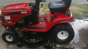 Craftsman Riding Mower good condition deck is good 60 day limited warranty on motor and transmission for Sale in East Lake-Orient Park, FL