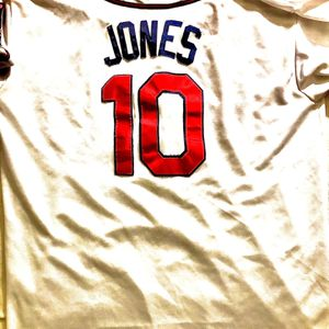 Chipper Jones 40th Year Edition Official MLB Jersey for Sale in Lyons, GA
