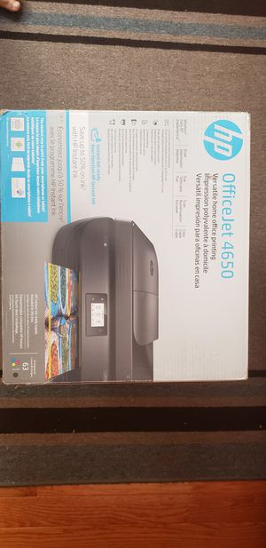HP office jet 4650 wireless all in one printer for Sale in East Rutherford, NJ