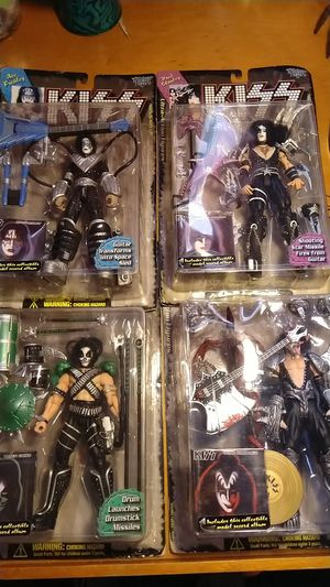 Ultra actions figures KISS for Sale in Los Angeles, CA