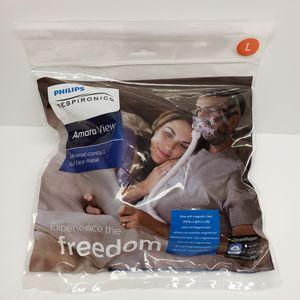 Phillips Respironics Amara View Minimal Contact Full Face Mask Large for Sale in Fredericksburg, VA