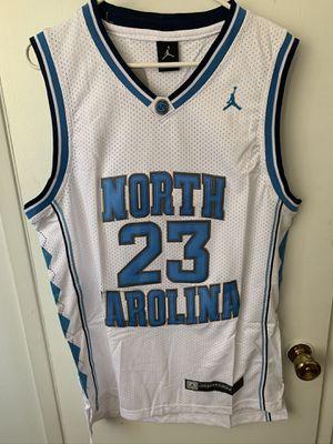 Michael Jordan #23 white North Carolina jersey for Sale in Sylmar, CA