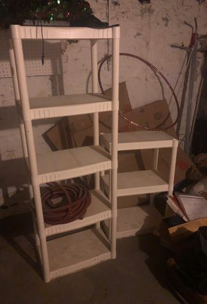 Plastic storage shelves for Sale in ARSENAL, PA