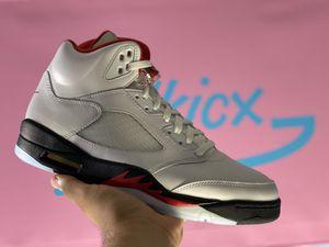 Jordan 5s size 9.5 fire red for Sale in Sacramento, CA