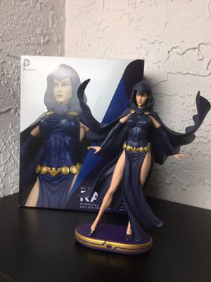 DC Comics Collectables Cover Girl Raven Statue Figurine Teen Titans for Sale in Tampa, FL