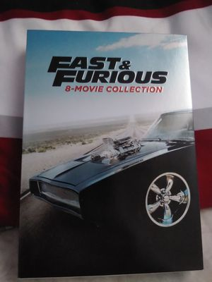 FAST & FURIOUS 8-MOVIE COLLECTION for Sale in West Covina, CA