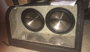 "12"" subwoofer one work much go 120 obo for Sale in District Heights, MD"