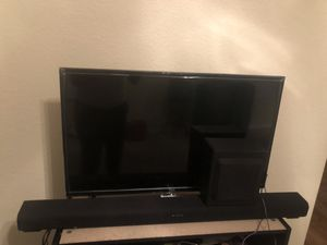 TCL ROKU Smart TV and RCA Surround Sound for Sale in Tempe, AZ