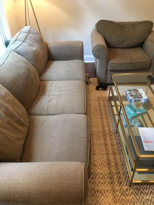 Havertys couch and chair for Sale in Atlanta, GA