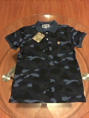 Bape Collar Neck Shirt for Sale in Miami, FL