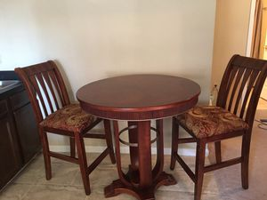 High table with 2 chairs for Sale in Falls Church, VA