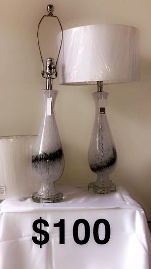 Brand new matching lamps for Sale in Chicago, IL