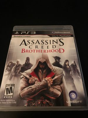 PS3 assassins creed brotherhood for Sale in East Lansing, MI