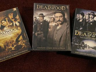 Deadwood The Complete Series 1-3 Seasons (DVD) for Sale in La Habra,  CA