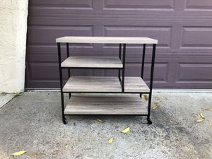 Birch Wood Bar Cart from Cost Plus World Market for Sale in Alameda, CA