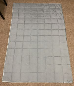 Weighted Blanket Gray 10 lbs. for Sale in Tempe, AZ