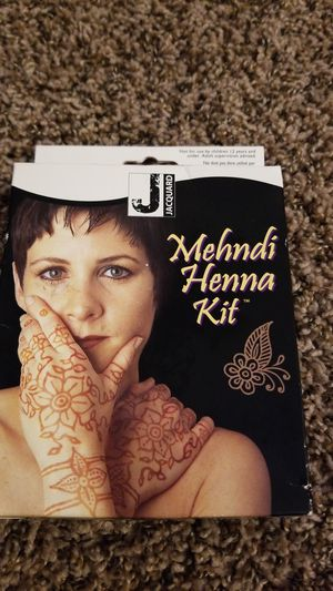 Henna kit for Sale in Olympia, WA