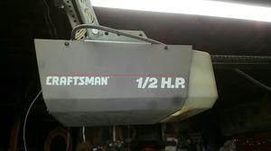 Craftmans garage door opener works for Sale in Fresno, CA