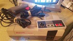 Old school Nintendo nes with super Mario bros for Sale in Fresno, CA