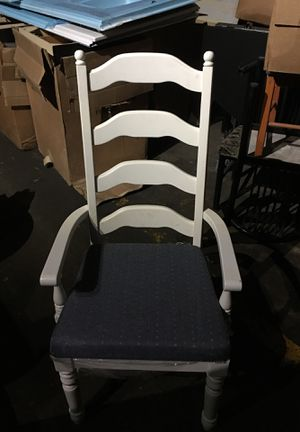 Beautiful white chairs for Sale in Nashville, TN
