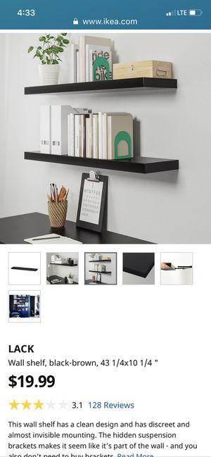 2 IKEA Lack Shelves $10 each/2 $15 for Sale in Leavenworth, WA
