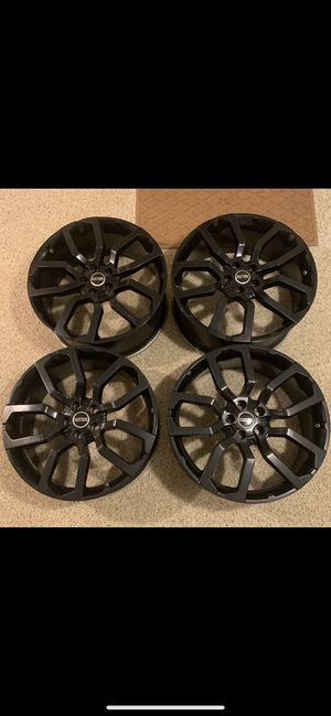 "22"" Black Range Rover Rims for Sale in Trafford, PA"