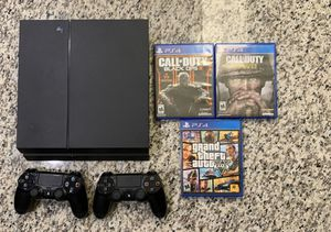 PS4 with Controllers and Games for Sale in Tulsa, OK