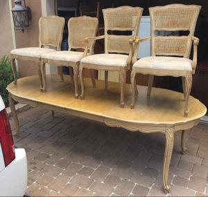 $150 firm. Dining room table set for Sale in Lake Worth, FL