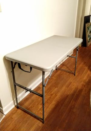 Foldable Table. 4' x 2' for Sale in Durham, NC