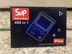 Sup 400 in 1 game box games include pac man turtles super Mario can be connected to tv for Sale in Los Angeles, CA