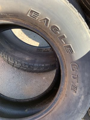 275-60-17 Goodyear pair for Sale in Rancho Cucamonga, CA