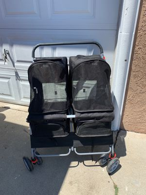 Double dog stroller for Sale in West Carson, CA