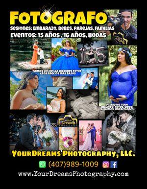 Fotógrafo de Eventos y Sesiones for Sale in Winter Garden, FL