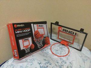 AND 1 mini door basketball hoop for Sale in Redlands, CA