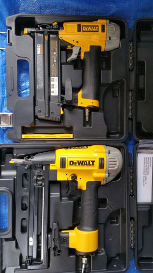 $175.. Dewalt 16G and 18G nailer for Sale in Evergreen, CO