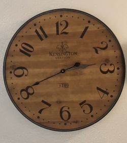 Large decorative Clock for Sale in Tualatin,  OR