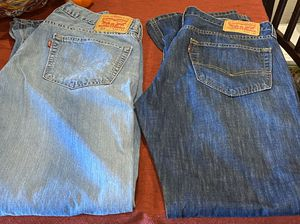 Men's Levi's Jeans / New Without Tags / Size: 34 x 34 / Pick-up in Cedar Hill / Shipping Available for Sale in Cedar Hill, TX