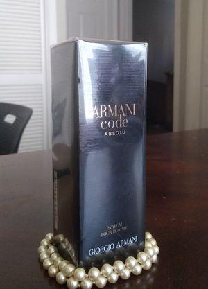 •Brand New• Armani Code Absolu 2oz/60mL Parfum Spray •Brand New• for Sale in Arlington, TX