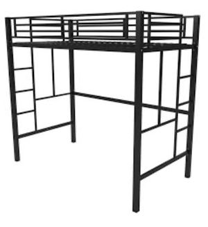 Twin loft bunk bed for Sale in Herndon, VA